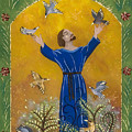 St. Francis And Birds by Sue Betanzos