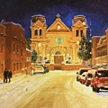 St. Francis Cathedral Basilica  by Gary Kim