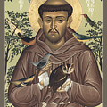 St. Francis Of Assisi - Rlfoa by Br Robert Lentz OFM