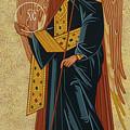 St. Gabriel Archangel - Jcagb by Joan Cole