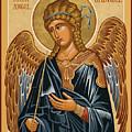 St. Gabriel Archangel - Jcarb by Joan Cole