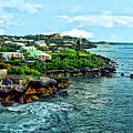 St. George Bermuda Shoreline by Susan Savad