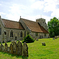 St George's Church At Arreton by Rod Johnson