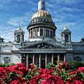 St. Izaak Cathedral In Sankt Petersburg by Jaroslaw Blaminsky