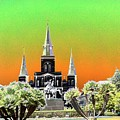 St. James Cathedral New Orleans by Kevin Flynn
