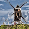 St. Janshuis Windmill by Phyllis Taylor