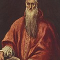 St Jerome As Cardinal by El Greco