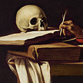 St. Jerome Writing by Caravaggio