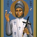 St. Joan Of Arc - Rljoa by Br Robert Lentz OFM