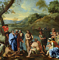 St John Baptising The People by Nicolas Poussin