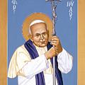 St. John Paul II - Rljp2 by Br Robert Lentz OFM