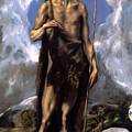 St John The Baptist by El Greco