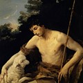 St John The Baptist In The Wilderness 1625 by Reni Guido