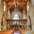 St John The Baptist Penshurst Interior by Dave Godden