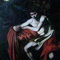 St John The Baptist Reproduction by Flamur Miftari