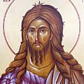 St John The Forerunner And Baptist by Julia Bridget Hayes