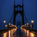 St Johns Bridge Shine by Karen McClymonds