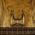 Kings College Chapel by Jean Noren