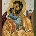 St. Joseph Of Nazareth - Rljnz by Br Robert Lentz OFM