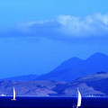 St Kitts Sailboats by Thomas R Fletcher