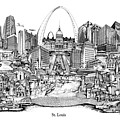St. Louis 4 by Dennis Bivens