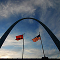 St Louis Arch Metal Gateway Landmark by Lane Erickson