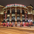 St Louis Busch Stadium  by John McGraw