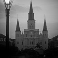 St. Louis Cathedral At Dawn by Daniel Ray
