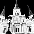 St. Louis Cathedral Drama In New Orleans by John Rizzuto