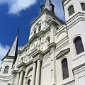 St. Louis Cathedral In The Afternoon by John Giardina