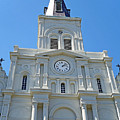 St. Louis Cathedral Study 1 by Robert Meyers-Lussier