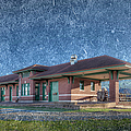 St Louis Iron Mountain Depot by Larry Braun