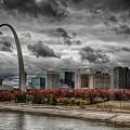 St Louis Riverfront by Jon Dickson