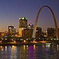 St Louis Skyline From Poplar Street Bridge by Garry McMichael