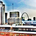 St Louis Skyline by Harry Tart