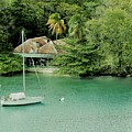 St. Lucia Mooring by Neil Zimmerman
