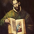 St Luke by El Greco