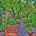 St. Luke Garden Sanctuary by Randy Aveille