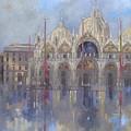 St Mark's -venice by Peter Miller