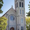 St Martins Church Winona Minnesota Front Vertical by Kari Yearous