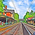 St. Martins Train Station by Bill Cannon