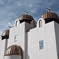 St Mary And St Abraam Coptic Orthodox Church by Luther Fine Art