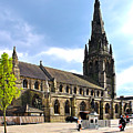 St Mary's Church At Lichfield by Rod Johnson