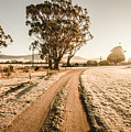 St Marys Winter Country Road by Jorgo Photography - Wall Art Gallery
