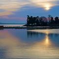St. Michael's Sunrise by Bill Cannon