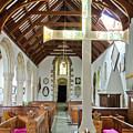 St Mylor Altar Cross by Terri Waters