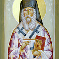 St Nektarios Of Aigina II by Julia Bridget Hayes