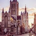 St. Nicholas Church, Gent by Rebekah Zivicki