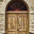 St Olafs Kirke Door by Stephen Stookey
