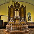 St Olafs Kirke Pulpit by Stephen Stookey